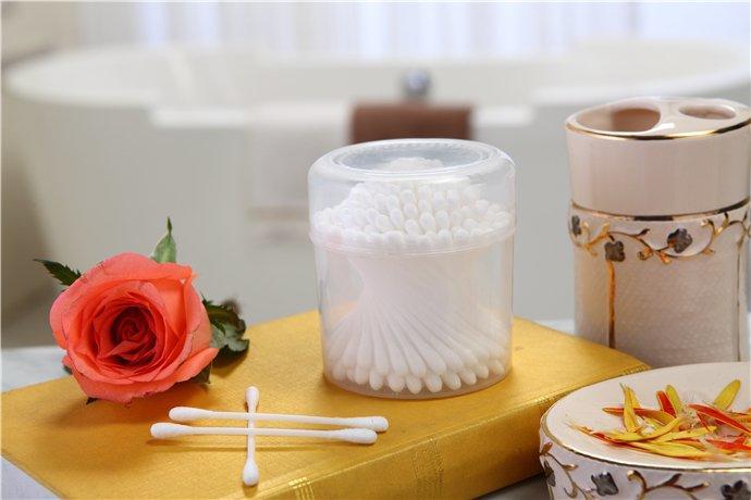 产品编号1018 ---- 150支塑料棒PP塑料棒100%纯棉包装