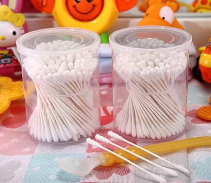货号:4008----180支罐装特细婴儿纸棒棉签