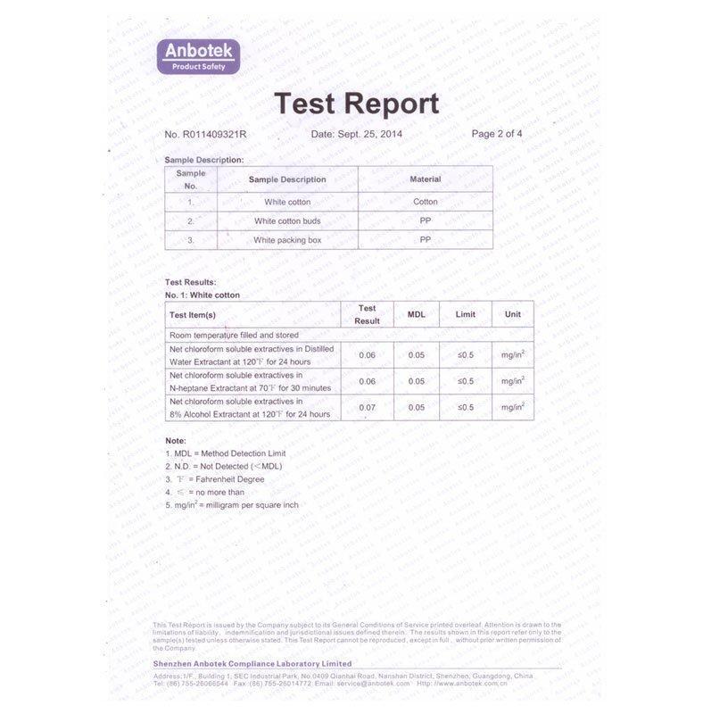 FDA test report-2