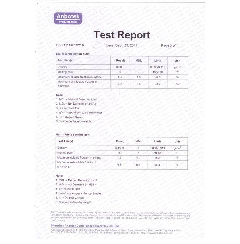 FDA test report-3